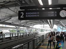 Perhatian! Hari Ini Stasiun MRT Bundaran HI Masih Ditutup