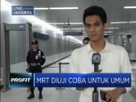 Uji Coba Publik MRT Jakarta Dimulai