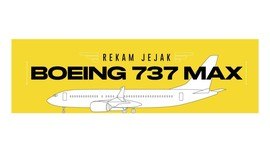 INFOGRAFIS: Rekam Jejak Boeing 737 MAX