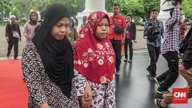 Usai Bebas, Siti Aisyah Temui Jokowi di Istana