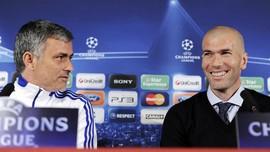 Mourinho Tidak Sakit Hati Zidane Jadi Pelatih Real Madrid