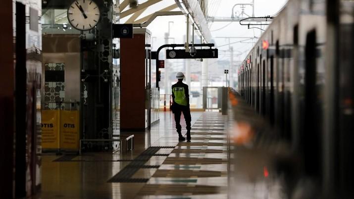 Ini Dia Penampakan Stasiun MRT Jakarta
