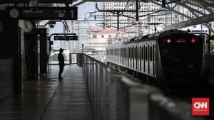 FOTO: MRT Bikin Wajah Jakarta Kian Cantik