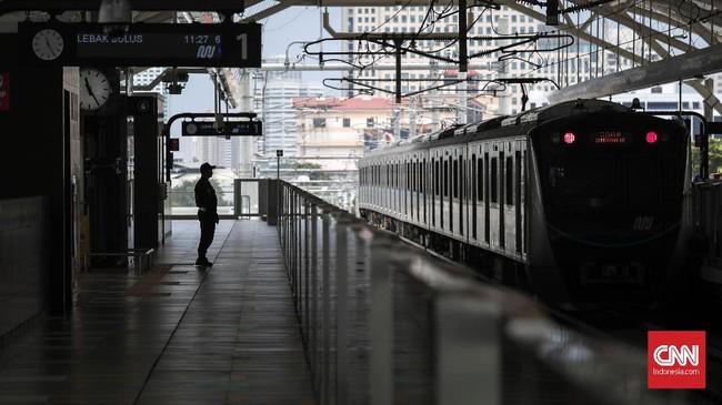 Meski demikian, total warga yang sudah mendaftar hingga 11 Maret 2019 mencapai 184.748 penumpang. (CNNIndonesia/Safir Makki).