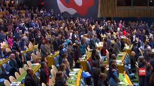 VIDEO: PBB Hening Cipta untuk Korban Ethiopian Airlines