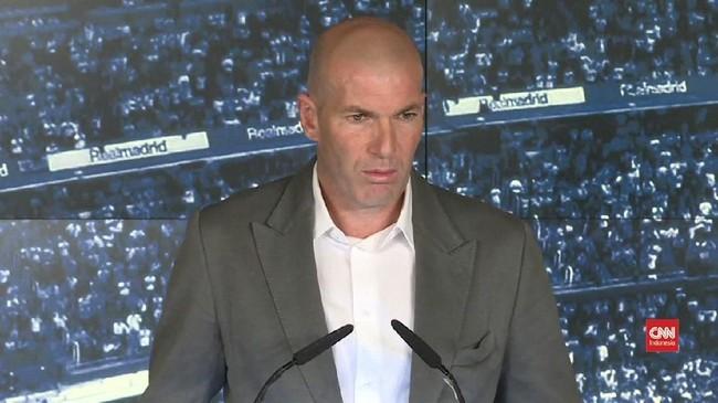 VIDEO: Zidane Terima Risiko Latih Real Madrid yang Terpuruk
