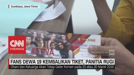 Fans Dewa 19 Kembalikan Tiket, Panitia Rugi Rp 400 Juta