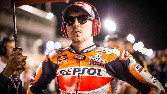 Lorenzo Takut Kecelakaan di MotoGP Argentina