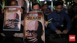 DPR Didesak Gunakan Hak Interpelasi Usut Kasus Novel Baswedan