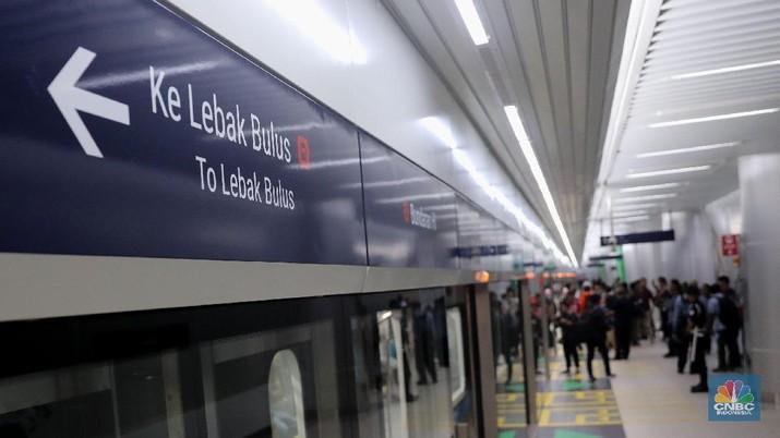 Pembangunan Mrt Jakarta Fase 2 Telan Rp 22 5 T
