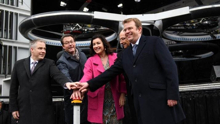 CityAirbus sebagai moda transportasi masa depan sebagai solusi kemacetan di perkotaan dan ramah lingkungan.