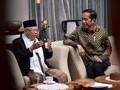 Ma'ruf Amin Bertemu Jokowi di Istana