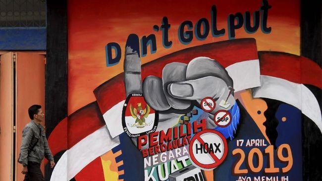 Seruan Tak Golput Hingga 'Kepo' Netizen Sehari Jelang Pemilu