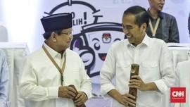 Jokowi di Balikpapan, Prabowo 'Duet' dengan AHY di Bandung