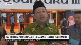Fahri Hamzah Siap Jadi Penjamin Ratna Sarumpaet