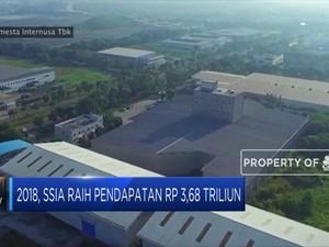 Laba Bersih SSIA Anjlok 96,8% di 2018