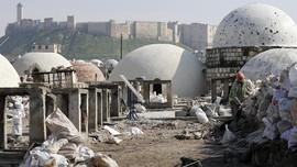 FOTO: Memugar Aleppo yang Terkoyak Perang Suriah
