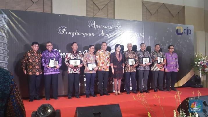 Direktorat Jenderal Pajak Kementerian Keuangan (DJP) memberikan apresiasi dan penghargaan kepada para wajib pajak