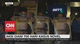 Aksi Diam 700 Hari Kasus Novel