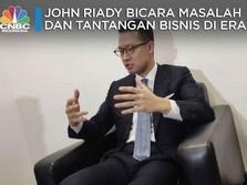 John Riady Bicara Tantangan & Masalah Bisnis di Era Milenial
