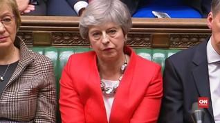 VIDEO: Usulan Kesepakatan Brexit May Kembali Ditolak Parlemen