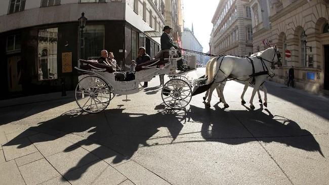 Untuk kesepuluh kalinya, kota Wina di Austria dinobatkan sebagai kota paling layak huni di dunia. (REUTERS/Heinz-Peter Bader)