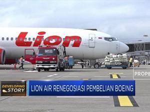 Lion Air Renegosiasi Pembelian Pesawat Boeing
