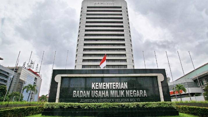 Kementerian BUMN telah menyiapkan skema holding perbankan.