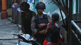 Densus 88 Tembak Satu Teroris di Bekasi