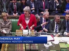 Mayday: Parlemen Inggris Kembali Tolak Brexit