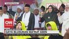 Blusukan, Ma'ruf Amin Mengaku Rajin Berolahraga