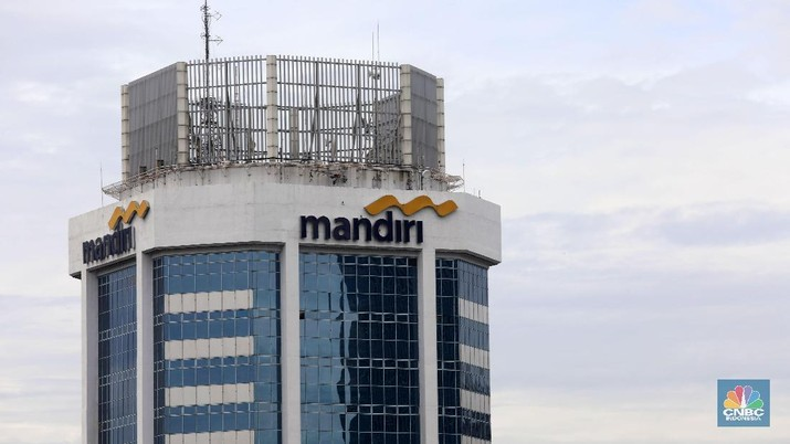 Bank Mandiri. (CNBC Indonesia / Muhammad Sabki)