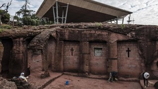 FOTO: Gereja-gereja Batu di Ethiopia yang Terancam Hilang