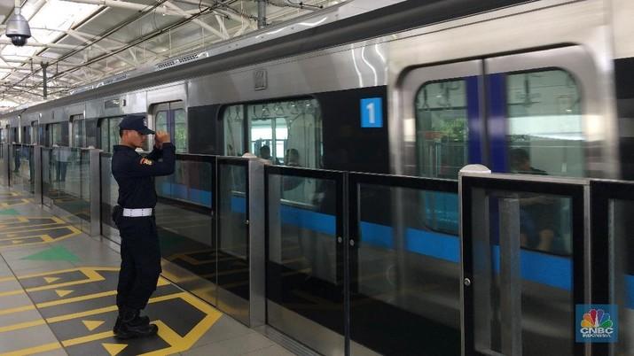Moda Raya Terpadu (MRT) Jakarta, dipastikan bakal beroperasi secara penuh bulan ini.