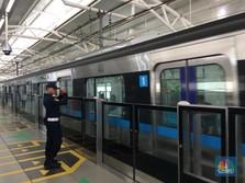 MRT Jakarta Diluncurkan Maret, Menunggu Jadwal Jokowi