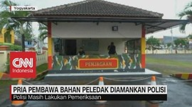 Pria Pembawa Bahan Peledak Diamankan Polisi di Yogyakarta