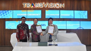 Transvision Tayangkan Konten Premium SBS