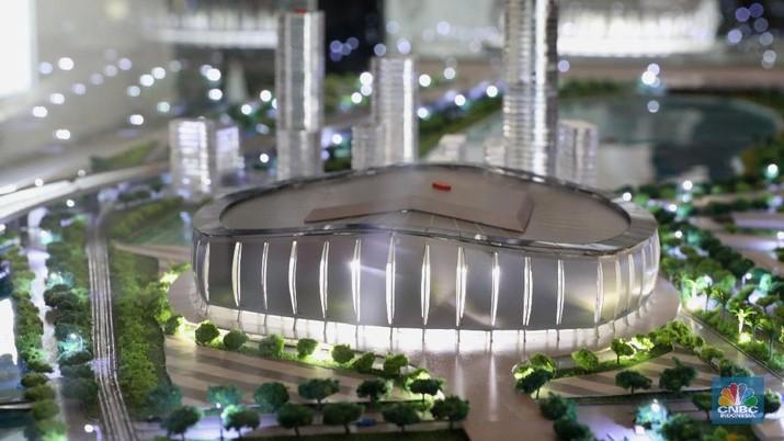 Pembangunan Jakarta International Soccer Stadium (JISOCS) diyakini bakal menjadi ikon ibu kota.