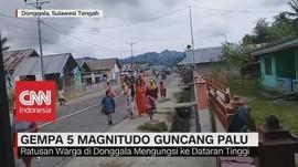 Gempa 5 Magnitudo Guncang Palu