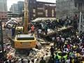 VIDEO: Ratusan Anak Tertimpa Reruntuhan Bangunan di Nigeria