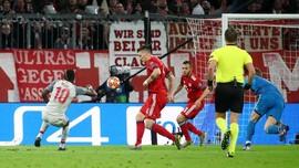 Bayern Munchen vs Liverpool Imbang di Babak Pertama