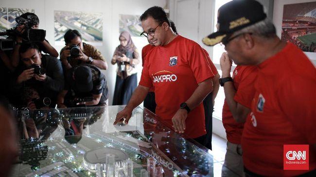 Stadion BMW Terancam Batal, Jakmania Desak Gubernur Anies
