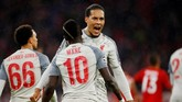 Liverpool menjadi kesebelasan asal Inggris keempat yang memastikan tempat di perempat final. (Action Images via Reuters/Andrew Boyers)