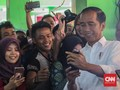 Jokowi Digoda Ibu-Ibu, dari Pujian Ganteng sampai Minta Duit