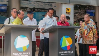Jokowi Resmikan Bandara Depati Amir dan KEK Tanjung Kelayang