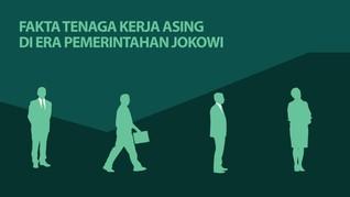 INFOGRAFIS: Fakta Tenaga Kerja Asing di Era Jokowi