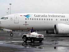 Rugi, Garuda Tutup Beberapa Rute Dalam Negeri & Luar Negeri