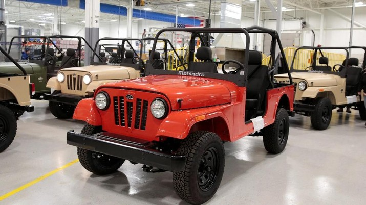 Mahindra, 'Jeep' Murah a La India Seharga Rp 200 Juta-an