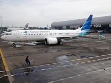 Bayar Sewa Pesawat Rp 25 M/bulan, Bos Garuda: Terlalu Mahal!