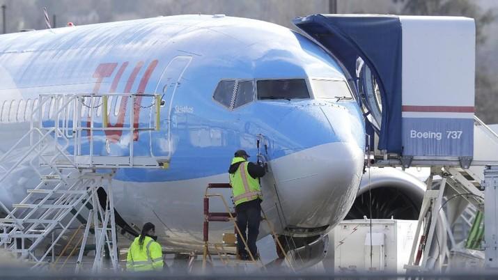Pesawat Boeing jenis 737 MAX kembali ditimpa musibah.